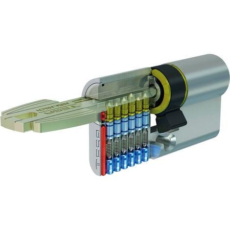Cilindro Tesa T-60 30X40 Laton 5 llaves