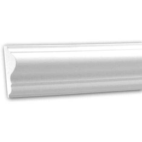 Cimaise 151301 Profhome Moulure décorative style Néo-Classicisme blanc 2 m