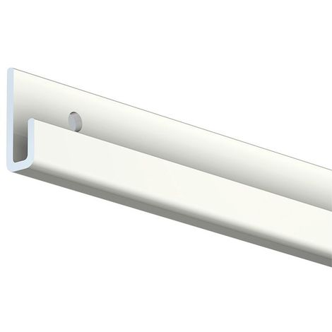 Cimaise Classic Rail + - Blanc - 200 - Blanc