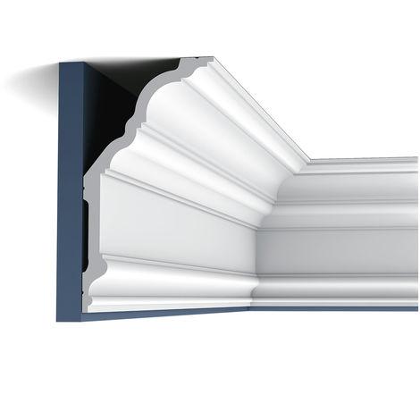Cimaise Corniche Moulure Orac Decor C340 LUXXUS Décoration Profil Elément décoratif pour mur et plafond | 2 m