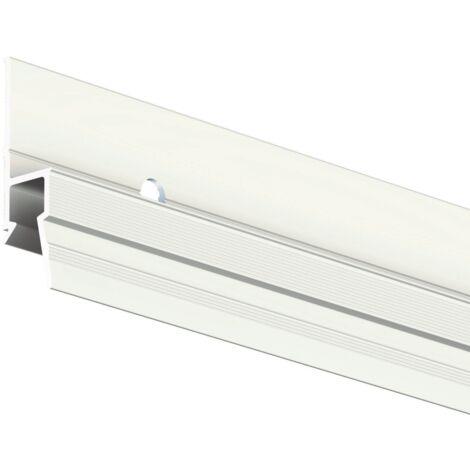 Cimaise Deco Rail 200 cm + vis & chevilles murs creux - Cimaise Tableau Artiteq - creux/dur : creux