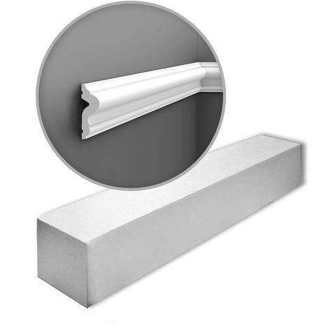 Cimaise Orac Decor PX175 AXXENT Cimaise Moulure Frise Moulure décorative design moderne blanc