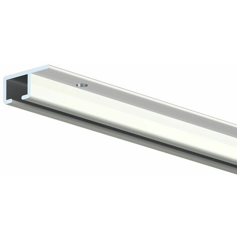 Cimaise TOP Rail pour plafond - Blanc (RAL 9010) - 200 - Blanc (RAL 9010)