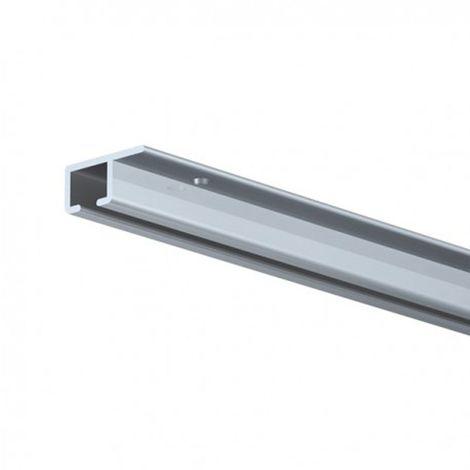 Cimaise TOP Rail pour plafond - Longueur 200 cm - Alu - 0.7 - Alu