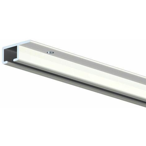 Cimaise TOP Rail pour plafond - Longueur 200 cm - Blanc (RAL 9010) - 0.7 - Blanc (RAL 9010)