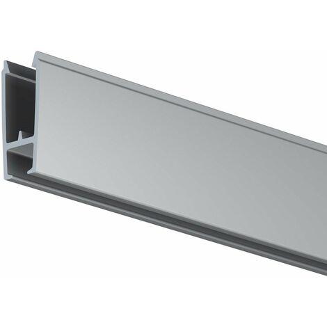 Cimaise XPO Rail 2 mètres - Solution d'affichage signalétique plafond - Artiteq - Alu - 0,9 - Alu
