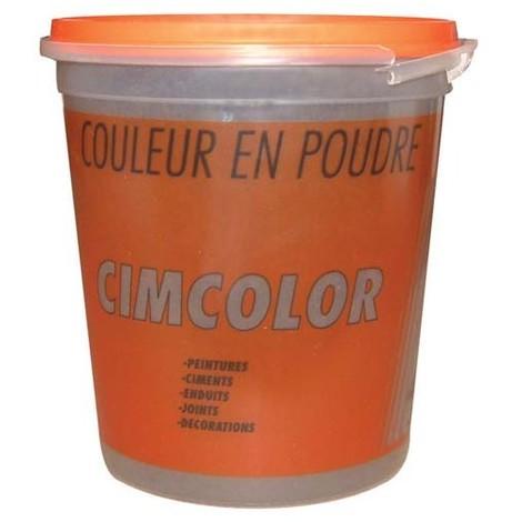 CIMCOLOR - Couleur en poudre - oxyde jaune - 1 L