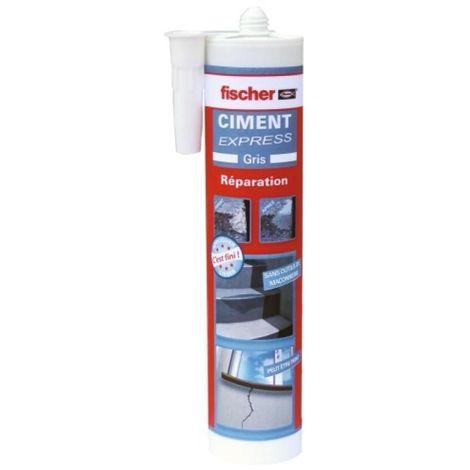 Ciment express ton gris cartouche de 310 ml - Gris
