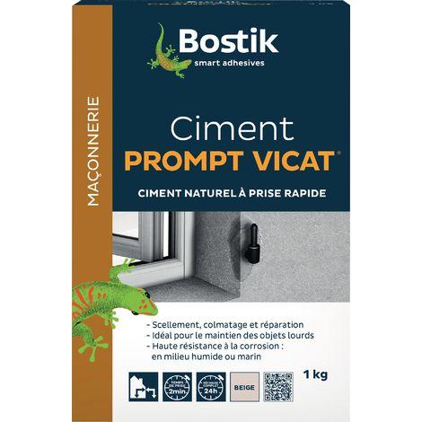 Ciment prompt vicat Bostik