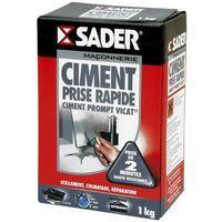 Ciment Prompt Vicat Prise rapide Sader 1kg