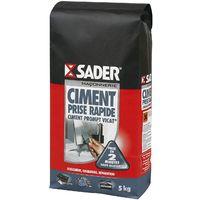Ciment Prompt Vicat Prise rapide Sader 5kg