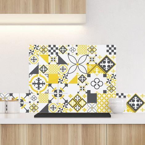 Ciment Style Gris-jaune