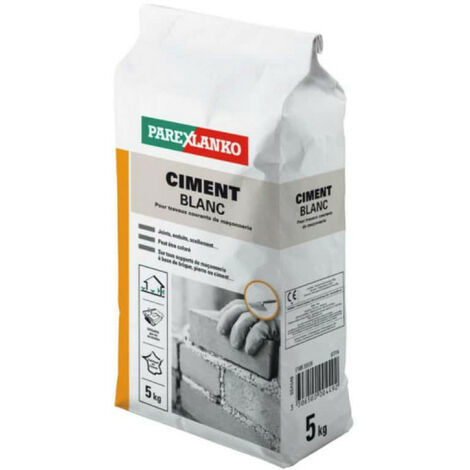 Ciment SUPERBLANC 32.5 5 kg