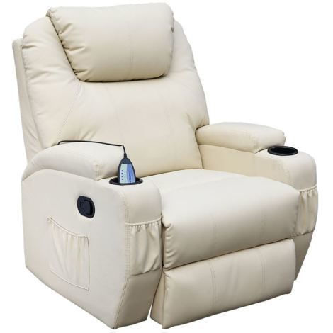 CINEMO LEATHER RECLINER CHAIR - different colors available
