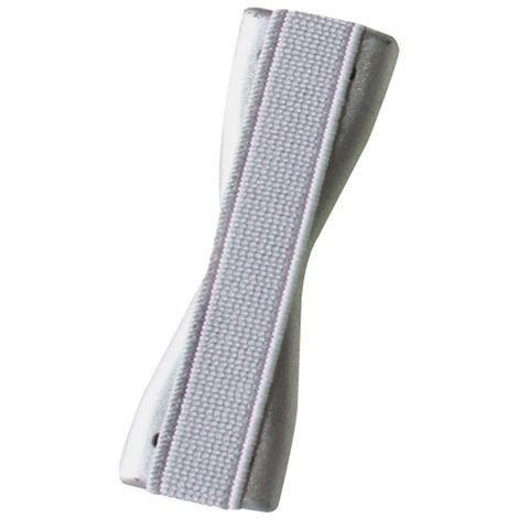 Cinghia posteriore anti-caduta per telefono cellulare, supporto universale semplice per telefono cellulare, argento