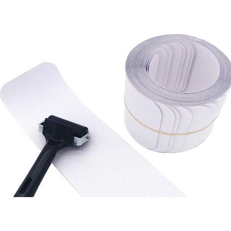 Cinta 15pcs antideslizante Escalera con rodillo transparente adhesiva antideslizante tiras de traccion invisible cinta de agarre interior y seguridad exterior para ninos ancianos Mascotas