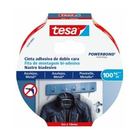 Cinta Adhesiva 19Mmx 5Mt Doble Cara Azulejos Tesa Powerbond Tesatape