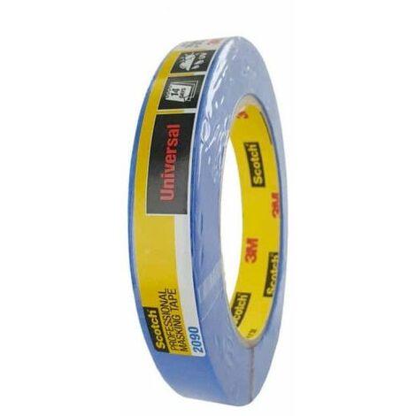 Cinta adhesiva 3M 2090 18mm x 50m azul