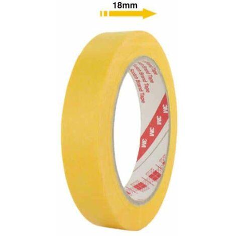 Cinta adhesiva 3M 244 18mm x 50m amarillo