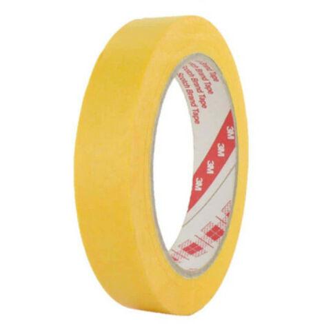 Cinta adhesiva 3M 244 18mm x 50m amarillo x 5m