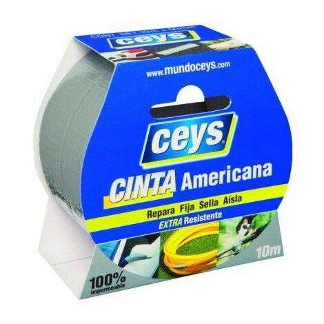 Cinta Adhesiva 50Mmx 10Mt Americana Plata Tack Ceys Ceys