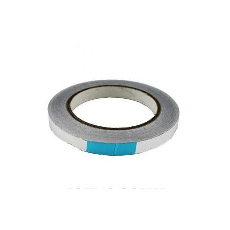 Cinta adhesiva Aluminio 10mm (50 metros)