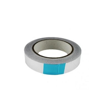 Cinta adhesiva Aluminio 30mm (20 metros)