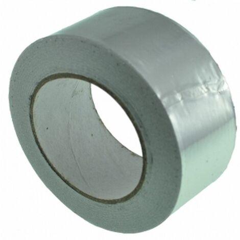 Cinta adhesiva Aluminio 50mm (50 metros)