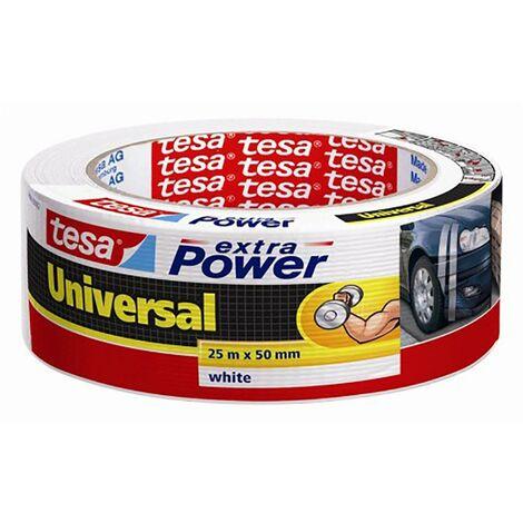 Cinta Adhesiva Americana 48Mmx 25Mt Blanco Tesa Tape 56388-00002-05