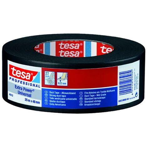 Cinta Adhesiva Americana 48Mmx 25Mt Negro Tesa Tape 04612-00001-00