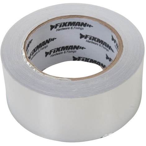 Cinta adhesiva de aluminio 45 m x 50 mm - NEOFERR