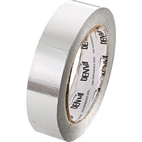 Cinta adhesiva de aluminio AF080 - 25mm planaeada