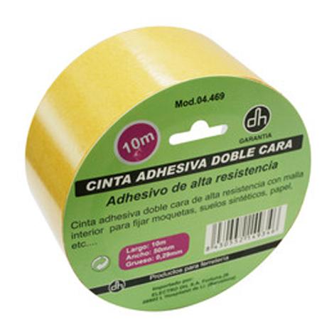 Cinta adhesiva de doble cara de alta resistencia, ideal para fijar moquetas, suelos sintéticos y más, Electro DH 04.469