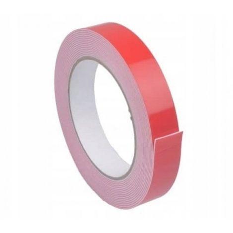 Cinta adhesiva de espuma de doble cara 25 mm / 1.5