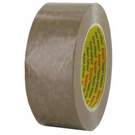 Cinta adhesiva de PVC 3M bronceado 50mm x 100m x 5