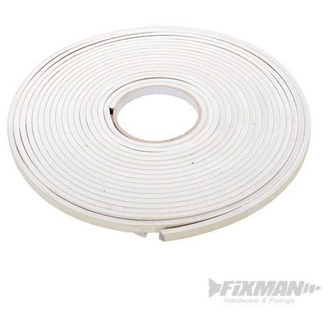 Cinta adhesiva de sellado EVA (3 - 8 mm / 10.5 m. blanco)