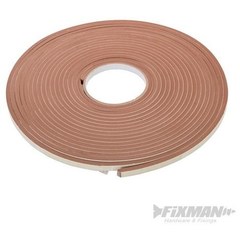 Cinta adhesiva de sellado EVA (3 - 8 mm / 10.5 m. marrón)