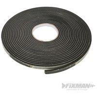 Cinta adhesiva de sellado EVA (3 - 8 mm / 10.5 m. negro)