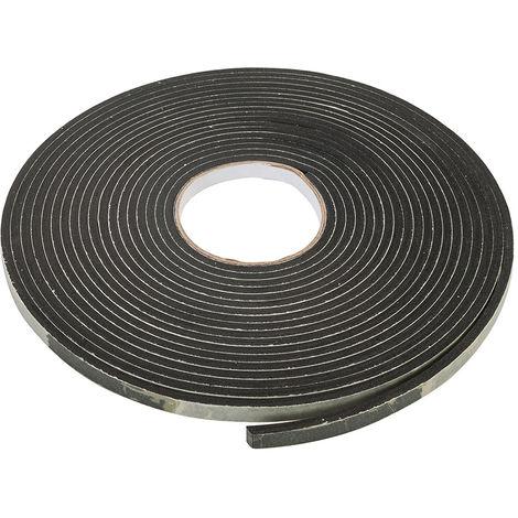 Cinta adhesiva de sellado EVA 3 - 8 mm / 10,5 m, negro - NEOFERR