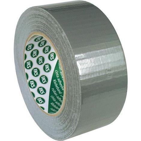 Cinta adhesiva de tejido G76 50m x 38mm, plata