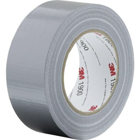 Cinta adhesiva de tela 1900 3M™ -50mm planaeada