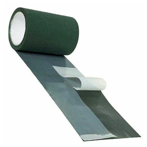 Cinta adhesiva de union para cesped. Color verde. 15 cm x 10 mts.