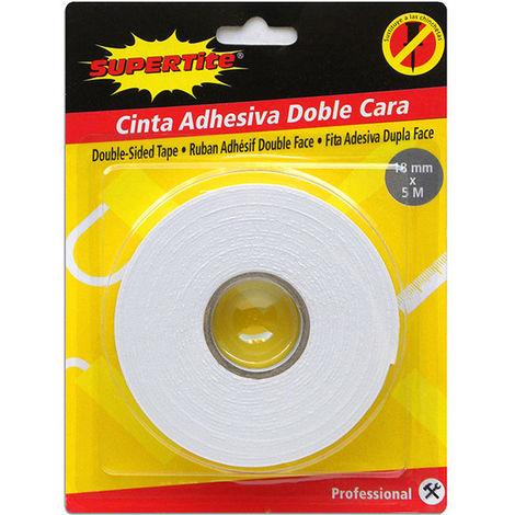 Cinta Adhesiva Doble Cara 18mm X 5m