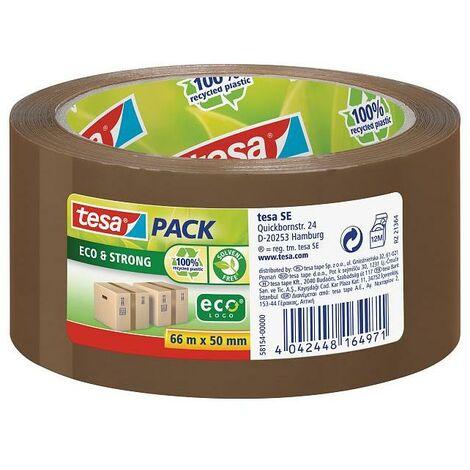 Cinta adhesiva Esco & Strong 100% plástico reciclado Tesa