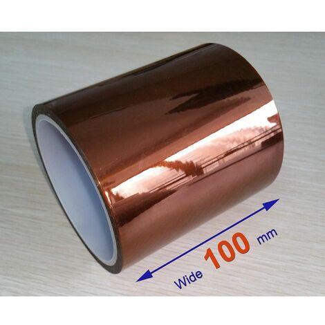 Cinta adhesiva Kapton 100mm (resitente al calor)