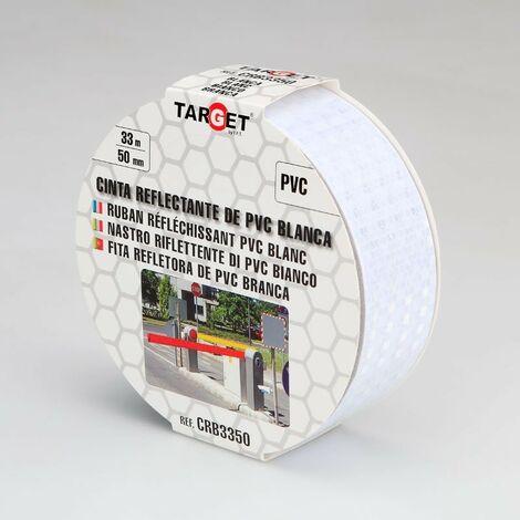 Cinta adhesiva reflectante de PVC