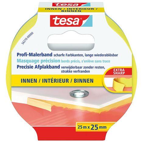 Cinta adhesivo de enmascaramiento para interior de precisión Tesa 56271-00000-00 (por 8)