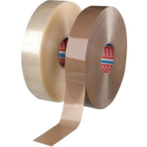 Cinta adhesivo embalaje Tesapack PVC 4120 chamois 66mx50mm (por 6)