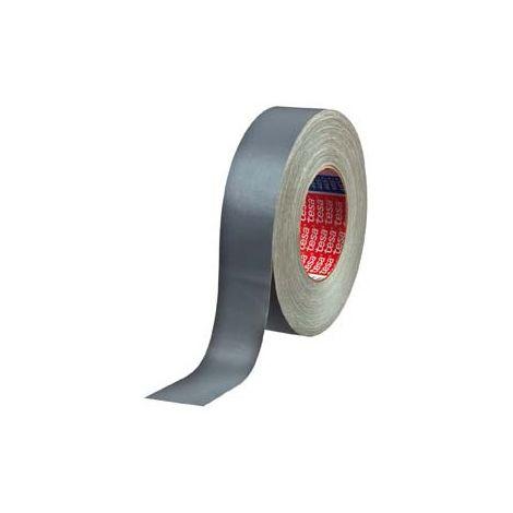 Cinta adhesivo lienzo argamasa acrílico gris, Gris, 50 m x 30 mm - Tesa 04657-00113-00 (por 5)