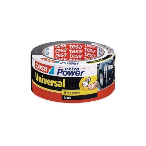 Cinta adhesivo Tesa extra Power plata 50mx50mm Universal (por 6)